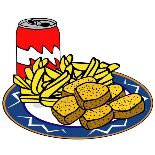 Coke Can Chicken Nuggets French Fries PNG Clip art