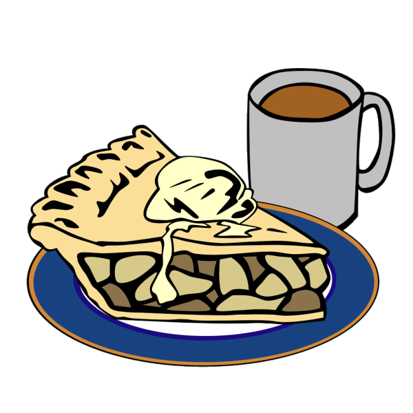 Apple Pie And Coffee PNG Clip art