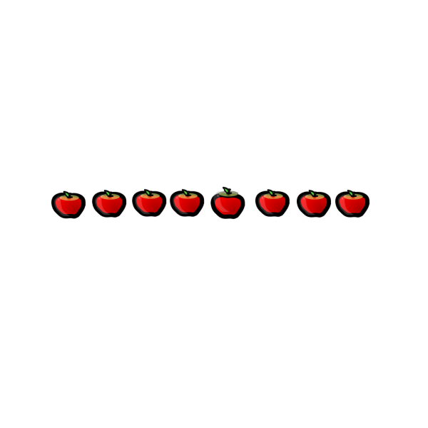 Candied Apples PNG Clip art