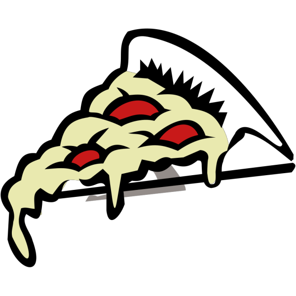 Pepperoni Pizza Slice PNG Clip art