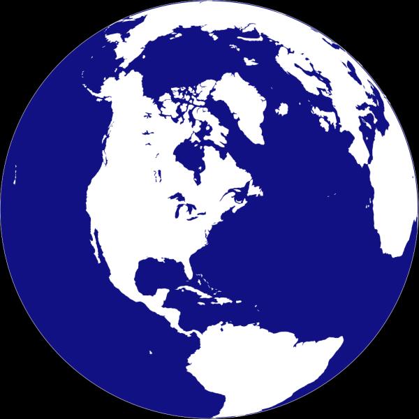 Northern Hemisphere Globe PNG Clip art