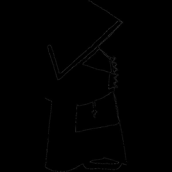 Nun 1 PNG Clip art