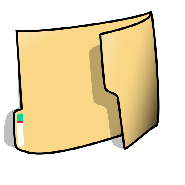 Fancy Folder 1 PNG Clip art
