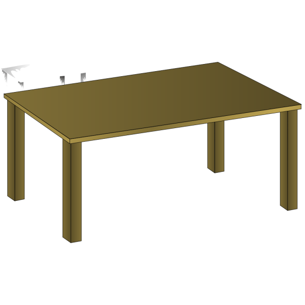 Wooden Table PNG Clip art
