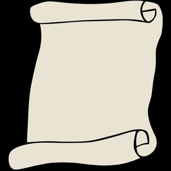 Parchment Paper Portrait PNG Clip art