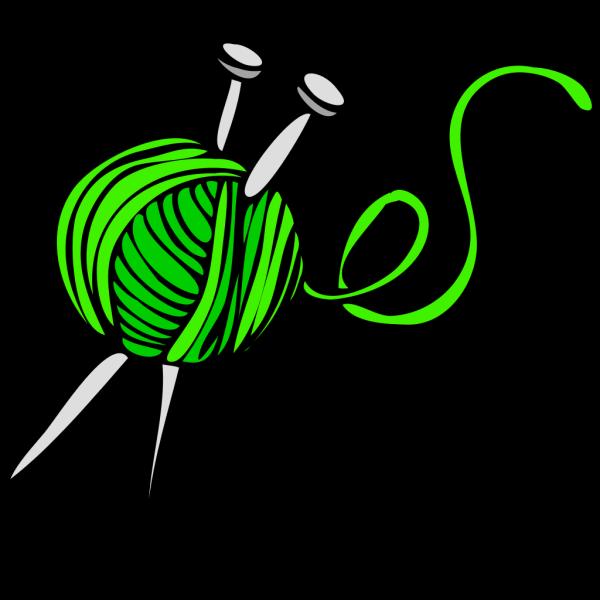 Green Yarn PNG Clip art