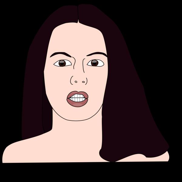 Girl Head PNG Clip art