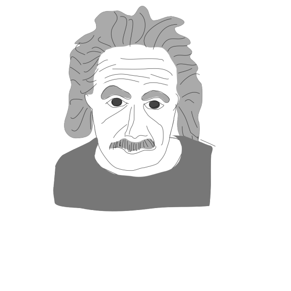 Albert Einstein Cartoon PNG Clip art