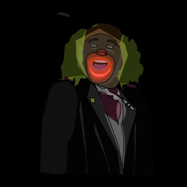 Cartoon Laughing Clown PNG Clip art