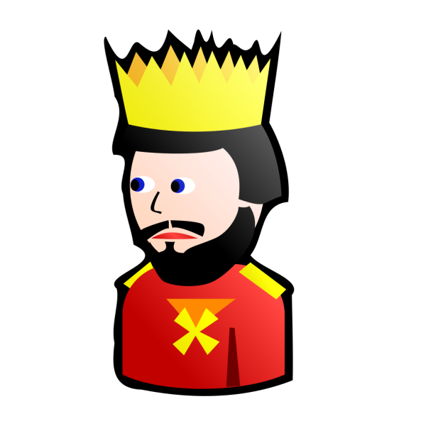 Card Figure - King PNG clipart
