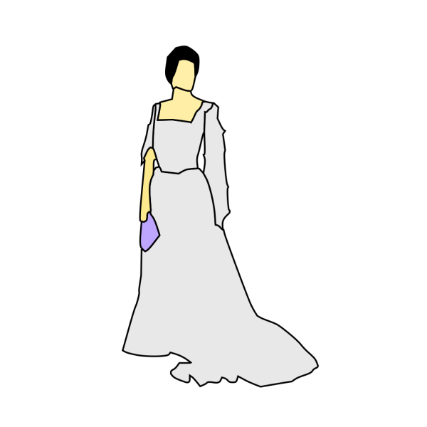 Bride White Dress PNG images