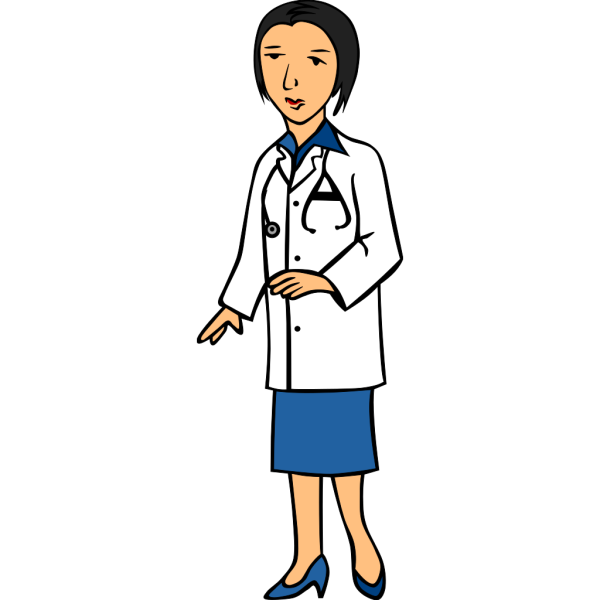 Woman Doctor 1 PNG Clip art