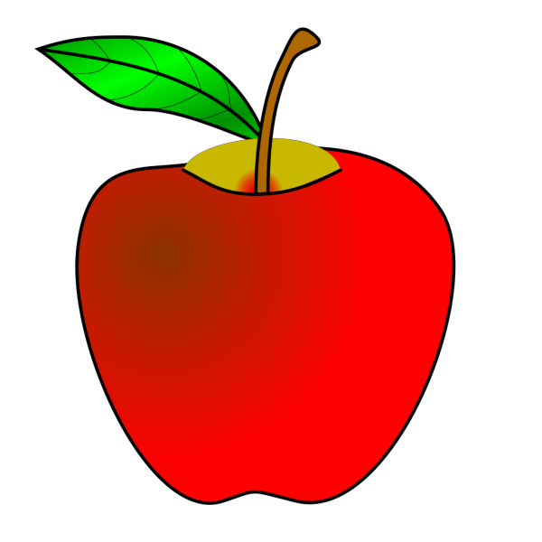 Sliced Apple PNG icons