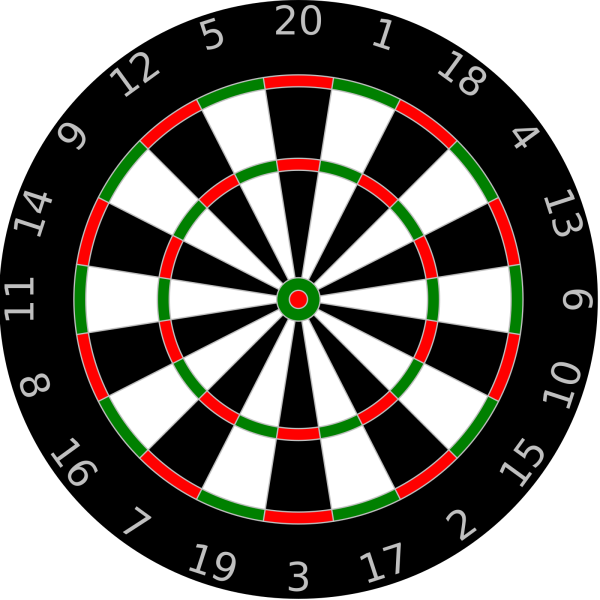 Dartboard PNG icons