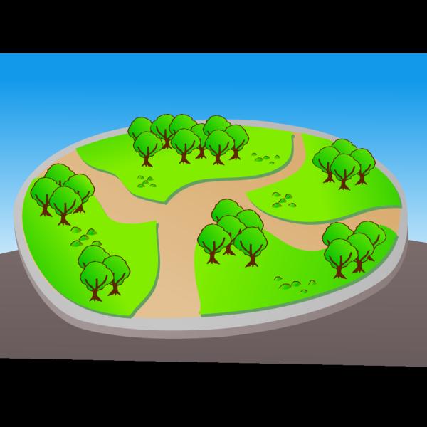 Park Map PNG Clip art