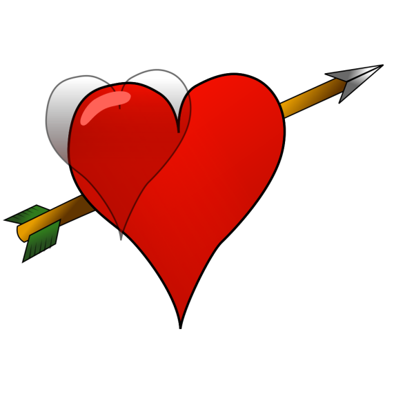 Heart-arrow PNG Clip art