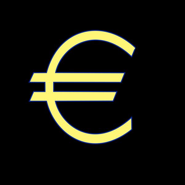 Monetary Euro Symbol PNG Clip art
