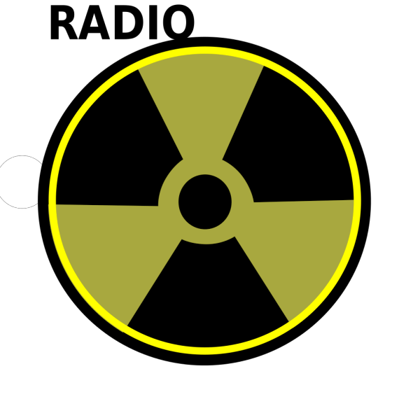 Radioactive Sign PNG Clip art