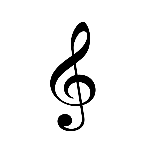 Treble Clef PNG Clip art
