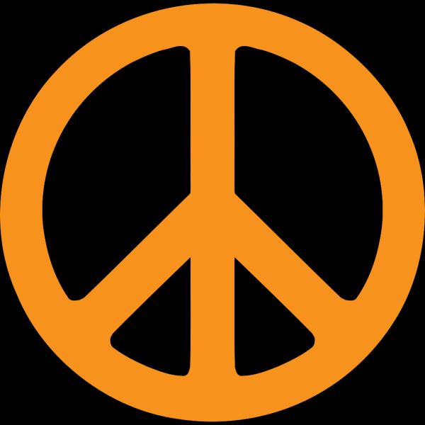 Peace Symbol (transparent Fix) PNG Clip art