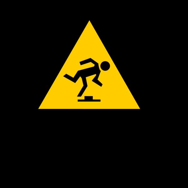 Tripping Hazard PNG Clip art
