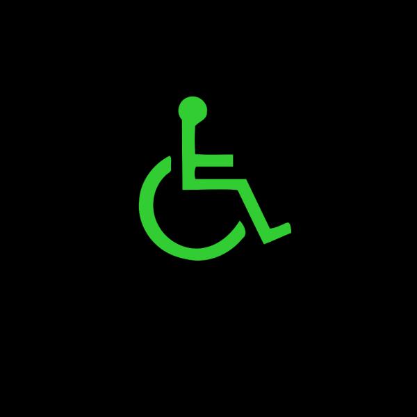 Wheelchair Symbol PNG Clip art