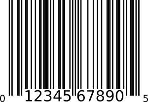 Upc-a Bar Code PNG images