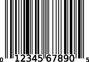 Upc-a Bar Code PNG Clip art