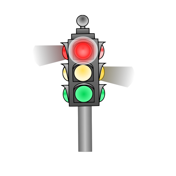 Traffic Light: Red PNG Clip art