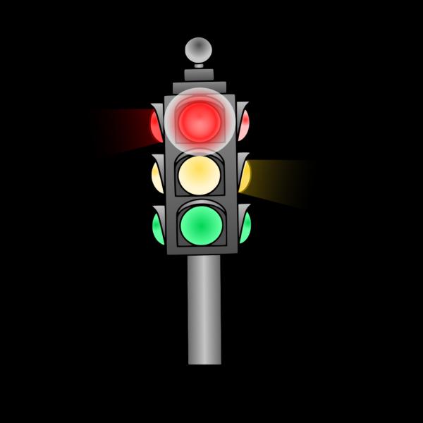 Traffic Light: Red PNG Clip art