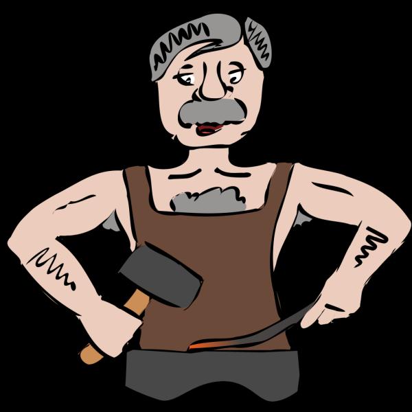 Blacksmith Hammer PNG Clip art