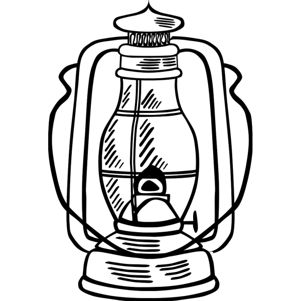 Red Hurricane Lamp PNG clipart