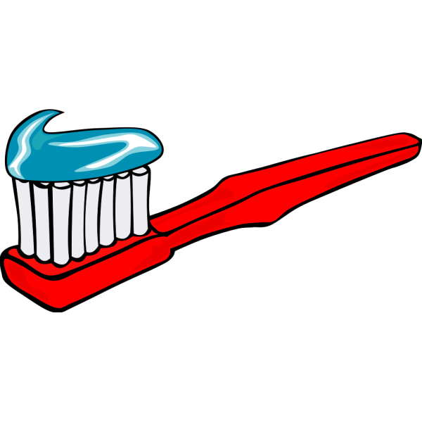Toothbrush With Toothpaste PNG Clip art