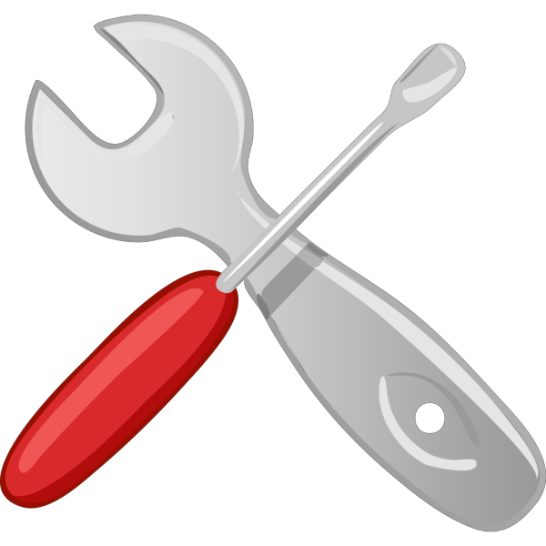 Hardware Tools Workshop Screwdriver Wrench PNG images