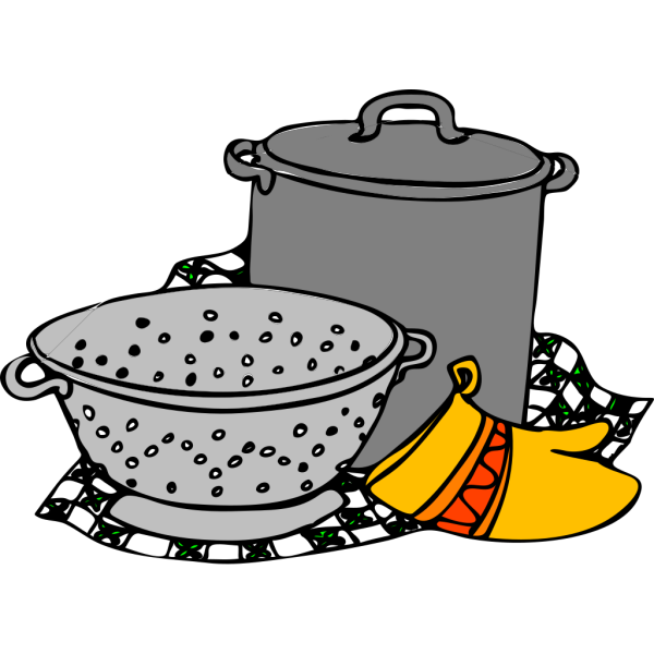Cooking Pans Glove PNG images