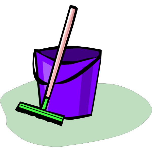 Cleaning Bucket Sponge Water PNG images