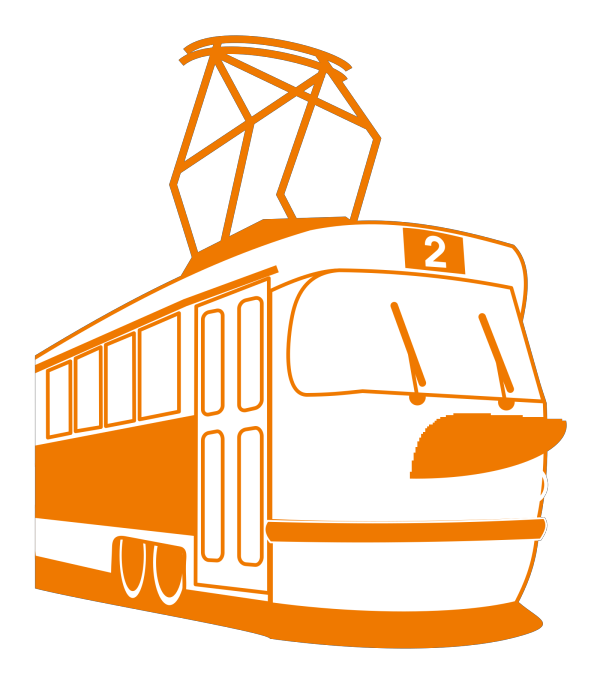 Tramway PNG Clip art