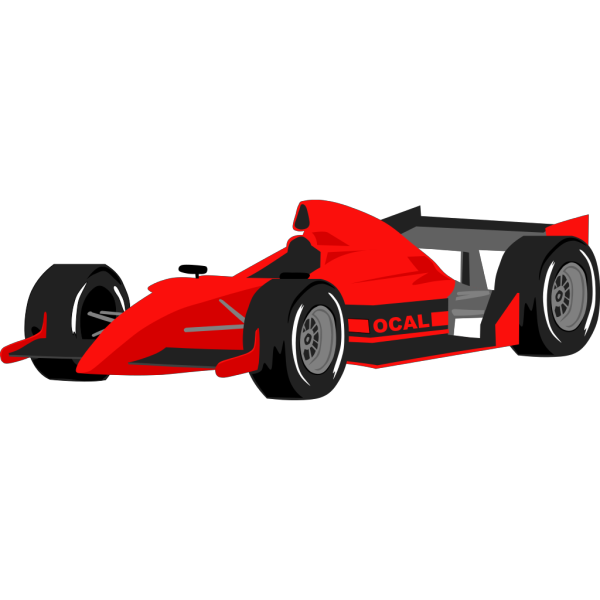 Formula One Car PNG Clip art