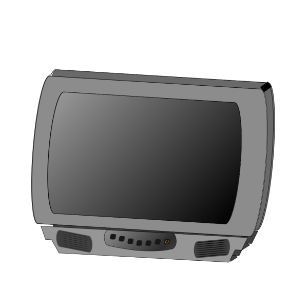 Small Flat Panel Lcd Television PNG Clip art