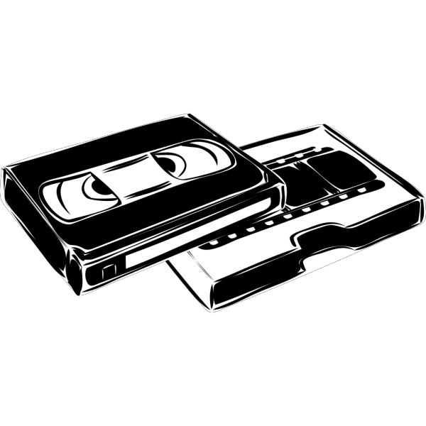Vhs Cassette Video PNG Clip art