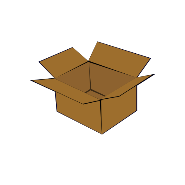 Cardboard Box PNG Clip art