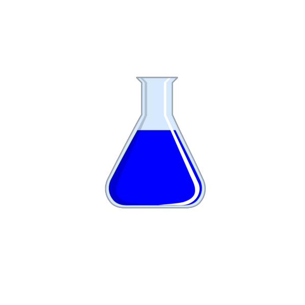 Chemistry Flask PNG Clip art