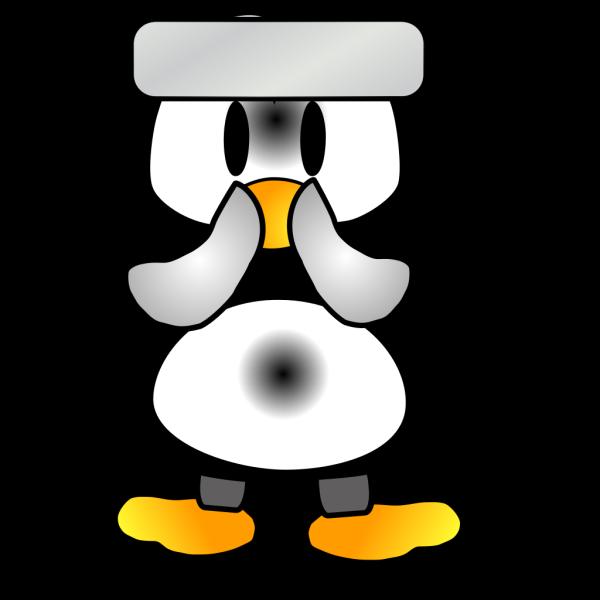 Baby Tux PNG Clip art