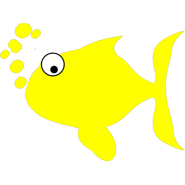 Yellow Fish PNG Clip art