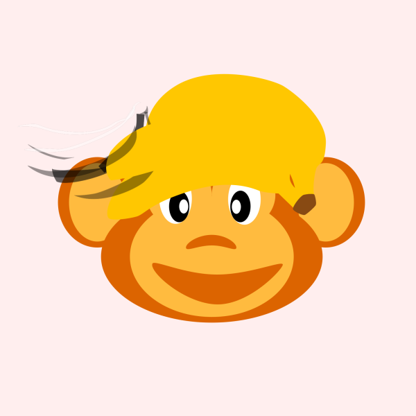 Monkey Head PNG Clip art