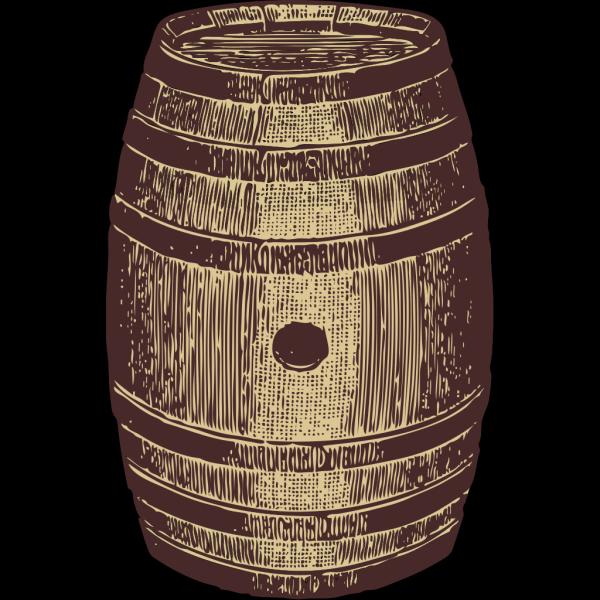 Wooden Barrel PNG Clip art