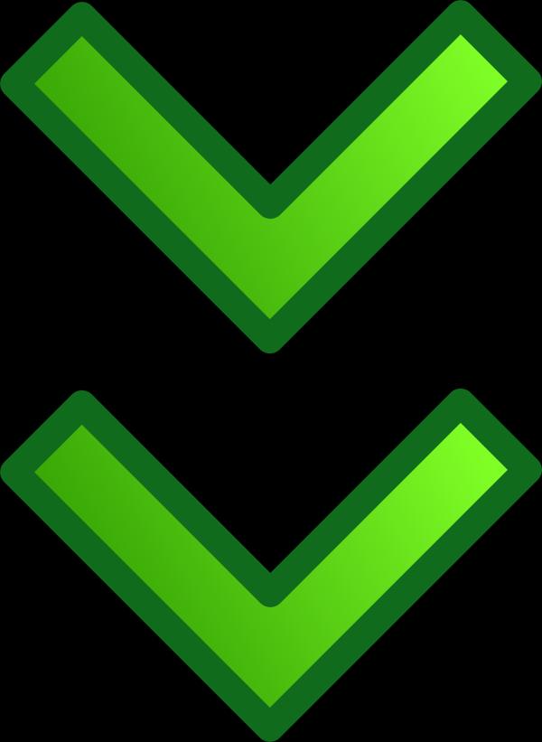 Arrow-down-blue PNG Clip art