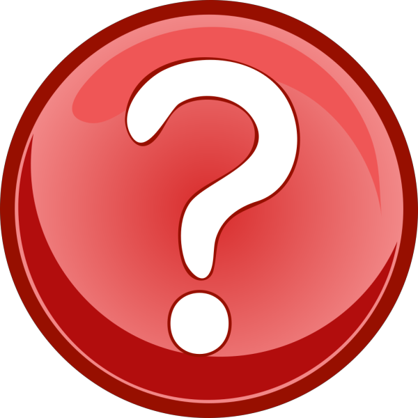 Red Question Mark Circle PNG Clip art