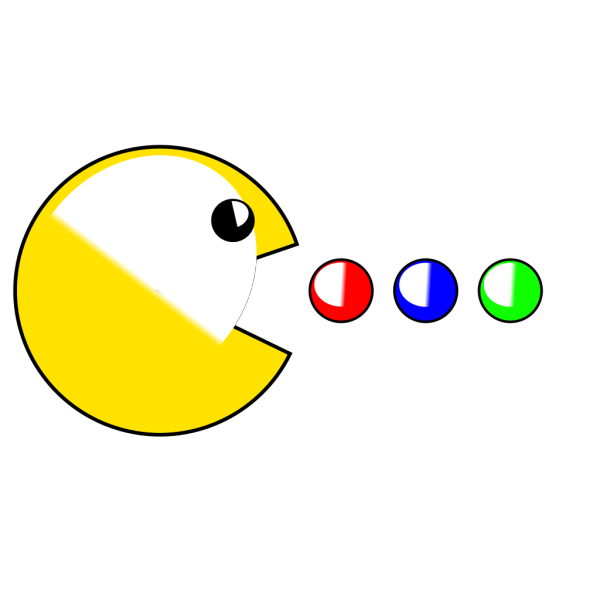 Pacman (yet Another) PNG Clip art