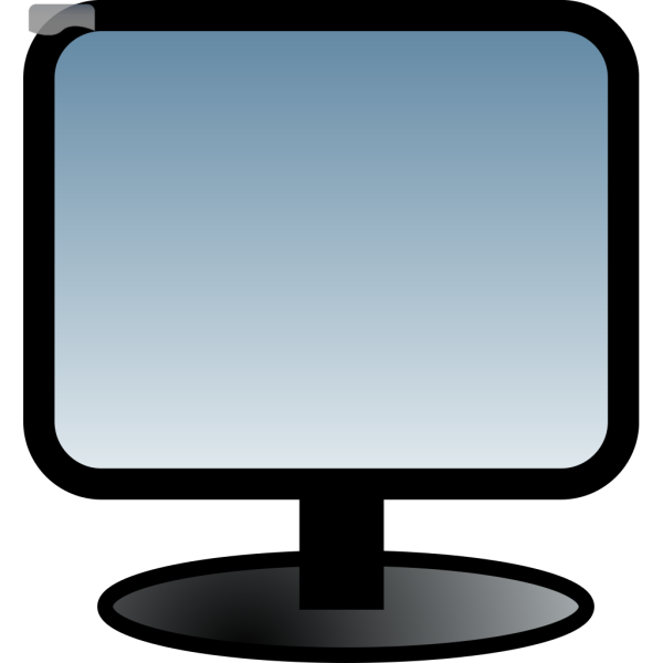 Flat Screen PNG Clip art